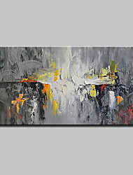 cheap -Mintura® Hand Painted Abstract Oil Paintings On Canvas Modern Wall Art Pictures For Home Decoration Ready To Hang