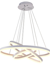 cheap -OBSESS® 3-Light Circular Chandelier Downlight Painted Finishes Aluminum Mini Style, Creative 110-120V / 220-240V Warm White / Cold White LED Light Source Included / LED Integrated / FCC