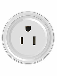 cheap -WETO Smart Wi-Fi Plug for Smart Home Remote Control your Devices from Anywhere No Hub Required Works with Alexa and Google Assistant