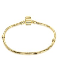 cheap -Women's Bracelet Ladies Fashion Gold Plated Bracelet Jewelry Gold / White For Gift Daily