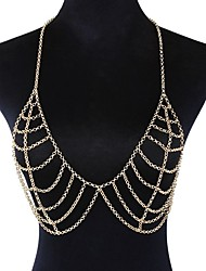 cheap -Nipple Piercing Ladies Oversized Women's Body Jewelry For Bikini Alloy Dream Catcher Gold