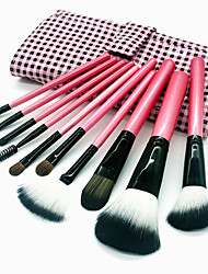 cheap -Professional Makeup Brushes Makeup Brush Set 10pcs Eco-friendly Professional Soft Full Coverage Comfy Artificial Fibre Brush Wooden / Bamboo for