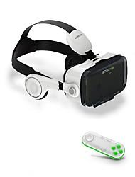 abordables -bobovr z4 cuir 3d casque en carton réalité virtuelle vr lunettes casque stéréo boîte pour 4-6 'téléphone mobile avec contrôleur