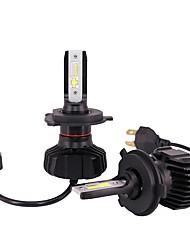 cheap -2pcs H4 / P43T Car Light Bulbs 180 W Integrated LED 18000 lm 4 LED Headlamp For Volkswagen / Toyota / Honda Fit / CR-V / Bora All years