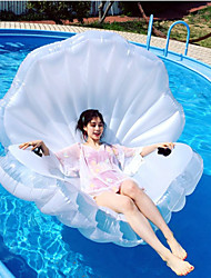 cheap -Shell Inflatable Pool Floats PVC Inflatable Durable Swimming Water Sports for Adults 160*135*30 cm