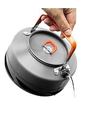 Недорогие -Fire-Maple Походный чайник 0.8 L Водный горшок и чайник 1 Альпинизм за Алюминий Нержавеющая сталь ПВХ (поливинилхлорида) на открытом воздухе Пешеходный туризм Походы Темно-серый