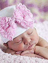 cheap -Infant Unisex Sweet Daily Floral / Botanical Floral Style Cotton Hats & Caps Pink / Rainbow / Royal Blue One-Size / Bandanas