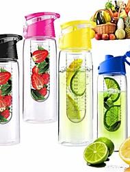 Недорогие -800мл езда на велосипеде спорт фрукты вливая infuser бутылка воды лимонная чашка сока велосипед откидная крышка