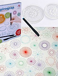 cheap -Drawing Toy Spirograph Design Set Painting Creative Child's Boys' Girls' Toy Gift 25 pcs
