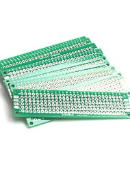 cheap -10pcs Double-Side Prototype PCB Universal Printed Circuit Board Universal PCB Circuit Board (2x8cm)