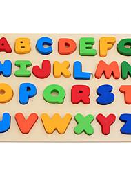 Недорогие -Игрушка для обучения чтению Буквы Взаимодействие родителей и детей деревянный Дети (1-4 лет) Все Мальчики Девочки Игрушки Подарок 1 pcs