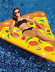 cheap -Pizza Inflatable Pool Floats PVC Inflatable Durable Swimming Water Sports for Adults 180*155*20 cm