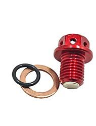 cheap -High Performance CNC Magnetic Oil Drain Bolt Plug For Suzuki Street Motorcycle Dirt Pit Bike
