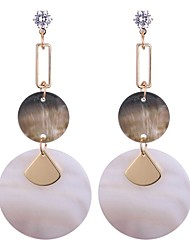 cheap -Women's Drop Earrings Ladies Vintage Fashion Earrings Jewelry White For Date Birthday 1 Pair