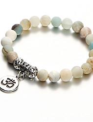 cheap -Women's 3D Strand Bracelet / Vintage Bracelet / Yoga Bracelet - Flower Bohemian, Fashion Bracelet White For Evening Party / Holiday