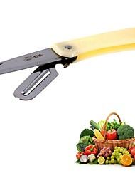 Недорогие -2 в 1 складной кухонный нож нож из нержавеющей стали кухонные гаджеты