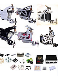cheap -BaseKey Professional Tattoo Kit Tattoo Machine - 6 pcs Tattoo Machines, Professional / High quality, formaldehyde free Alloy 20 W LCD power supply 4 steel machine liner & shader / 2 alloy machine