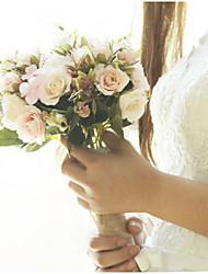 cheap -Wedding Flowers Bouquets / Petals Wedding / Wedding Party Satin / Fabrics 11-20 cm