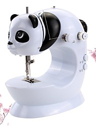 Недорогие -швейная машина, внешний вид панды, швейная машина panda.портативная мини-домашняя электрическая швейная машина двухпроводная двухскоростная педаль, маленькая настольная лампа, касательные