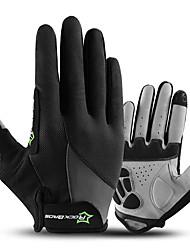 Недорогие -ROCKBROS Полный палец Универсальные Мотоцикл перчатки Ткань Сенсорный экран / Дышащий