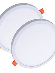 cheap -ZDM® 2pcs 8 W 40 LED Beads Easy Install Recessed New Design LED Panel Lights LED Downlights Warm White Cold White 85-265 V Ceiling Commercial Home / Office / RoHS / CE Certified / 90