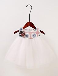 cheap -Baby Girls' Active Geometric Sleeveless Dress Blushing Pink / Toddler