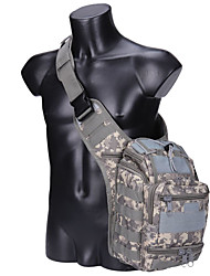 cheap -3 L Hiking Sling Backpack Military Tactical Backpack Quick Dry Wear Resistance Outdoor Hiking Cycling / Bike Camping Nylon Camouflage