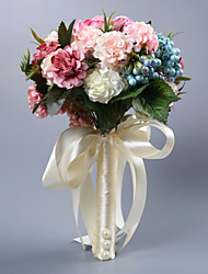 cheap -Wedding Flowers Bouquets Wedding Silk Like Satin / Other 11-20 cm