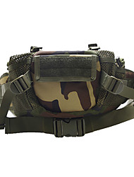 cheap -7 L Fanny Pack Hiking Waist Bag Military Tactical Backpack Quick Dry Wear Resistance Outdoor Hiking Camping Nylon Black Army Green Grey