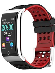 cheap -E08 Smart Wristband Bluetooth Fitness Tracker Support Notify/ Heart Rate Monitor Waterproof Sports Smartwatch Compatible Samsung/ Android/iPhone