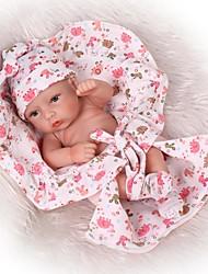 Недорогие -NPKCOLLECTION NPK DOLL Куклы реборн Кукла для девочек Мальчики Девочки 12 дюймовый Полный силикон для тела Силикон Винил - Новорожденный как живой Безопасно для детей Non Toxic