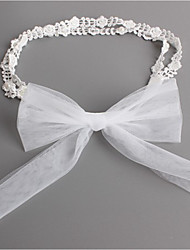cheap -Kids Girls' Basic Daily Bowknot Bow Lace Hair Accessories White One-Size / Headbands