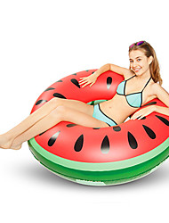 cheap -Watermelon Inflatable Pool Floats PVC Inflatable Durable Swimming Water Sports for Adults 120*120*30 cm