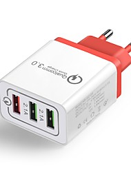cheap -Home Charger / Portable Charger QC 3.0 Home Charger RoHS / EU Plug
