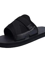 cheap -Men's Comfort Shoes Canvas Summer Slippers & Flip-Flops Black