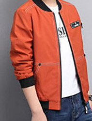 cheap -Kids Boys' Basic Daily Solid Colored Print Long Sleeve Regular Suit & Blazer Black