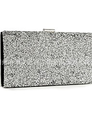 cheap -Women's Bags Alloy Evening Bag Sequin Glitter Shine Party Daily Date Evening Bag Wedding Bags Handbags Black Grey Black Gold Silver