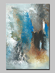 cheap -Mintura® Hand-Painted Modern Abstract Oil Painting on Canvas Wall Art Pictures for Home Decoration Ready To Hang With Stretched Frame
