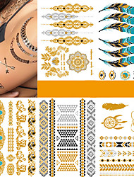cheap -tattoo-sticker-body-arm-temporary-tattoos-5-pcs-fashion-punk-body-arts-performance-vacation