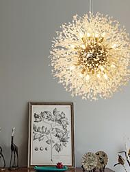 cheap -100 cm Crystal Chandelier Metal Sputnik Chrome Globe 110-120V 220-240V