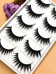 cheap -Eyelash Extensions False Eyelashes 10 pcs Extra Long Volumized Curly Fiber Event / Party Daily Wear Thick - Makeup Daily Makeup Halloween Makeup Party Makeup Trendy Fashion Cosmetic Grooming Supplies