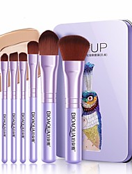 cheap -Professional Makeup Brushes Makeup Brush Set 7 PCS Full Coverage Alloy for Eyeliner Brush Blush Brush Foundation Brush Lip Brush Eyebrow Brush Eyeshadow Brush Concealer Brush Eyelash Brush