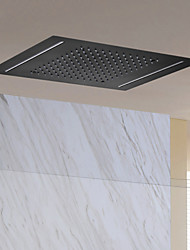 cheap -Contemporary Rain Shower Ti-PVD Feature - Design / Rainfall, Shower Head