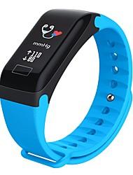 Недорогие -R3C Смарт Часы Android iOS Bluetooth Водонепроницаемый Пульсомер Измерение кровяного давления Сенсорный экран Педометр Датчик для отслеживания сна Сидячий Напоминание будильник Секундомер / Педометры
