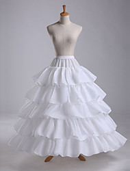 cheap -Wedding / Event / Party Slips POLY Gown Length Shaping Slips / Long with Cascading Ruffles