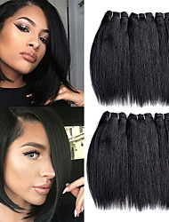 cheap -Remy Human Hair Hair weave Best Quality / New Arrival / For Black Women Malaysian Hair Mid Length 300 g More Than One Year Stage / Carnival / Wedding Party