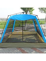 Недорогие -8 человек Палатка с экраном от солнца Дом с экраном от солнца На открытом воздухе Устойчивость к УФ Воздухопроницаемость Двухслойные зонты Автоматический Палатка 2000-3000 mm для