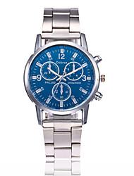 cheap -Men's Wrist Watch Quartz Black / White Casual Watch Analog Classic Fashion - White Black