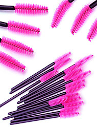 cheap -100pcs-makeup-brushes-professional-eyelash-comb-round-eyelash-brush-synthetic-hair-professional-comfy-plastic-small-brush-high-quality