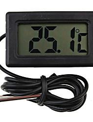 Недорогие -мини цифровой холодильник термометр черный жк-дисплей холодильник зонд